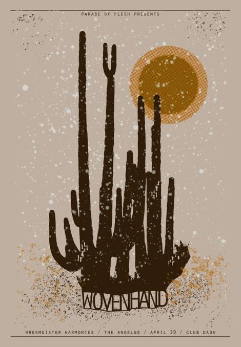 Wovenhand Poster: 4.19.13
